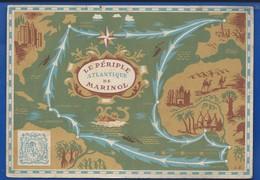 Le Périple Atlantique De Marinol - Landkarten