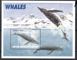 British Antarctic Territory 1996 WWF Blue Whale MS MNH CV £4.00 - British Antarctic Territory  (BAT)