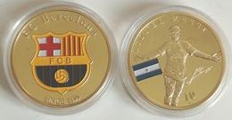 Medalla Lionel Messi. 10. Fútbol Club Barcelona, Cataluña, España. Argentina - Fútbol
