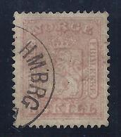 NORUEGA 1863 - Yvert #9 - VFU - Norway