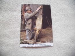 4E SALON DES COLLECTIONNEURS ..BEDUER ...1986 ...F. ROQUES ..ET SES PEAUX DE RENARD - Beursen Voor Verzamellars