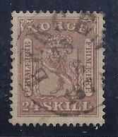 NORUEGA 1863 - Yvert #10 - VFU - Noruega