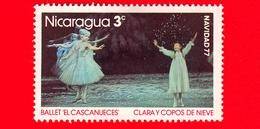 Nuovo - MNH - NICARAGUA - 1977 - Natale - Christmas - Noel - Navidad - Balletto - Clara And Snowflakes - 3 - Nicaragua