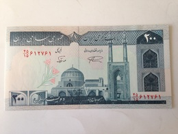 Billete Irán. 200 Rials. 1982. Firma 21. Sin Circular - Iran