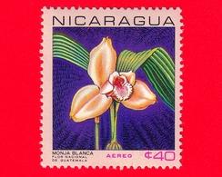 Nuovo - NICARAGUA  - 1967 - Fiori - National Flowers - Lycaste Skinneri Var. Alba - 40  - Posta Aerea - Nicaragua