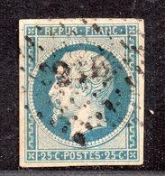 Louis-Napoléon  N° 15  Avec Oblitération Losange  TTB - 1852 Louis-Napoléon