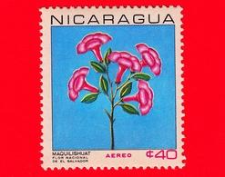 Nuovo - NICARAGUA  - 1967 - Fiori - National Flowers - Tabebuia Pentaphylla - 40  - Posta Aerea - Nicaragua