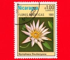 NICARAGUA  - Nuovo Oblit. - 1981 - Fiori Acquatici - Aquatic Flowers - Fleurs - Daubenyana - 1.00 - Nicaragua