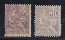 FRANCIA 1900/01 - Yvert #115 - MLH * - Nuevos