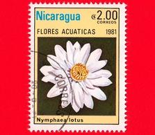 NICARAGUA  - Nuovo - 1981 - Fiori Acquatici - Flowers - Fleurs - Nymphaea Lotus - 2.00 - Nicaragua