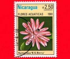 NICARAGUA  - Nuovo - 1981 - Fiori Acquatici - Flowers - Fleurs - Nymphaea B.G. Berry - 2.50 - Nicaragua