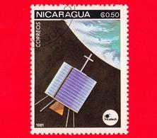 NICARAGUA  - Nuovo - 1981 - Esplorazione Dello Spazio - Space Communications - Satellite - 0.50 - Nicaragua