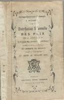 Mouscron. Collège Episcopal St.Joseph. 1927. Distribution Des Prix. - Documents Historiques