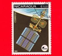NICARAGUA  - Nuovo - 1981 - Esplorazione Dello Spazio - Space Communications - Satellite - 1.00 - Nicaragua