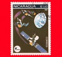 NICARAGUA  - Nuovo - 1981 - Esplorazione Dello Spazio - Space Communications - Satellite - 1.50 - Nicaragua