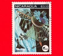 NICARAGUA  - Nuovo - 1981 - Esplorazione Dello Spazio - Space Communications - Satellite - 3.00  Posta Aerea - Nicaragua
