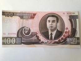 Billete Korea Del Norte. 100 Won. 1992. Comunista. Sin Circular - Korea (Nord-)