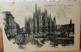 CARTOLINA POSTALE NON VIAGGIATA-MILANO PIAZZA DEL DUOMO - Milano