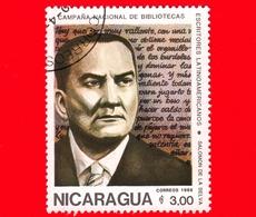 NICARAGUA  - Nuovo - 1986 - Scrittori Latino Americani - Writers - Biblioteca - Salomon De La Selva - 3 - Nicaragua