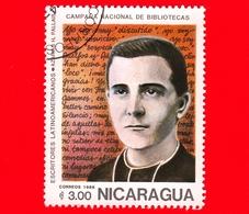 NICARAGUA  - Nuovo - 1986 - Scrittori Latino Americani - Writers - Biblioteca - Azarias H. Pallais - 3 - Nicaragua