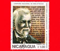 NICARAGUA  - Nuovo - 1986 - Scittori Latino Americani - Writers - Biblioteca - Alfonso Cortes - 1 - Nicaragua