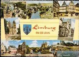 1071273  Limburg An Der Lahn, Schwimmbad, Dom, Blick Von Der Autobahnbrücke - Allemagne
