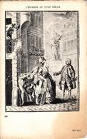 Thematiques Representation  L'Estampe Au XVIII Siecle Arrêt Pipi Au Coin De Rue N° 551 - Pintura & Cuadros