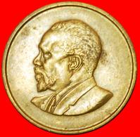 # WITHOUT LEGEND (1966-1968): KENYA ★ 5 CENTS 1968! LOW START ★ NO RESERVE! - Kenya