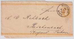 2 Kr. Streifband 1877, ANK € 60.-    , # A1643 - Stamped Stationery