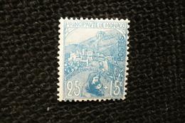 Monaco Orphelins 25c + 15c N°30 Neuf ** - Nuovi