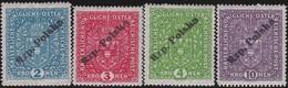Polen   .  Yvert    126/129         . *   .   Ungebraucht Mit Gummi Und Falz  .   /  .   Mint Hinged - 1919-1939 Republic
