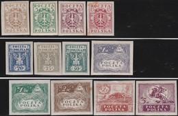 Polen   .  Yvert    147/158        .    *   .   Ungebraucht Mit Gummi Und Falz  .   /  .   Mint Hinged - 1919-1939 Republic