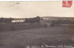 (39)   Carte Photo - Château De Montceau Et Le Hameau - France