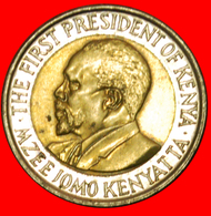 # COCK (2005-2009): KENYA ★ 5 SHILLINGS 2009 MINT LUSTER! LOW START ★ NO RESERVE! Mzee Jomo Kenyatta (1964-1978) - Kenya