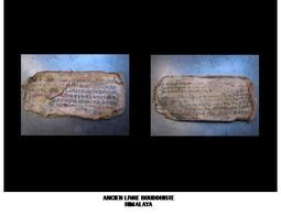 Ancien Livre Bouddhiste / Old Buddhist Book - Art Asiatique