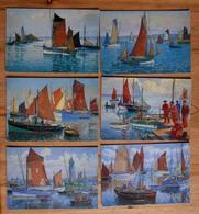 Au Temps De La Marine à Voile - Peintures De Bateaux De Pêche - 6 CPM - Ed. Ed. Artaud - Saint-Herblain - (n°13799) - Pêche