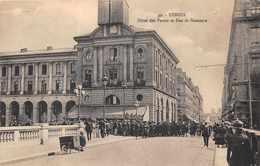 RENNES -  Hotel Des Postes Et Rue De Nemours..tres Animée - Rennes