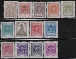 Polen   .  Yvert   299/309       .    *   .   Ungebraucht Mit Gummi Und Falz  .   /  .   Mint Hinged - 1919-1939 Republic
