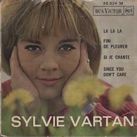 Disque 45 Tours SYLVIE VARTAN - Année 1963 - Disco & Pop