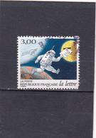 France Oblitéré  1998  N° 3155  Les Journées De La Lettre.  Cosmonaute Avec Une Lettre - France
