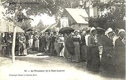 38- La Procession De La Saint-Laurent - Ed. Bessot Et Guionie -  Localisée à ALLASSAC - France