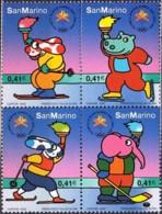 San Marino 2002, Olympics Games Salt Lake City (MNH, **) - Winter 2002: Salt Lake City
