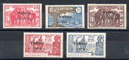 CAMEROUN - YT N° 240 à 244 (243-244 Signés) - Neufs * - MH - Cote: 100,00 € - Cameroun (1915-1959)