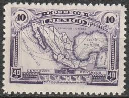 Mexico 1917, Maps (MNH, **) - Messico