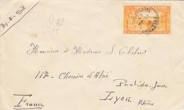 COVER. SIERRA LEONE. 16 1 1947. FREETOWN TOLYON FRANCE - Non Classés
