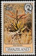 Swaziland 1980, Aloe, Perf. 12 1/4 (MNH, **) - Swaziland (1968-...)