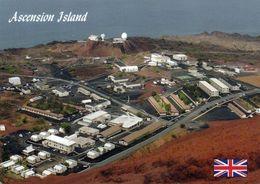 1 AK Ascension Island * Blick Auf Georgetown - Hauptort Der Insel * Britisches Überseegebiet Im Südatlantik * - Ascension (Ile)