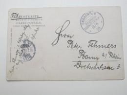 DSW ,  Feldpostkarte Aus OKAHANDJA  1905 - Colony: German South West Africa