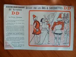 Buvard  Offert Par Les Bas Et Soquettes DD - Vloeipapier
