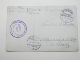 DSW ,  Feldpostkarte Aus Windhuk  1906 - Colony: German South West Africa